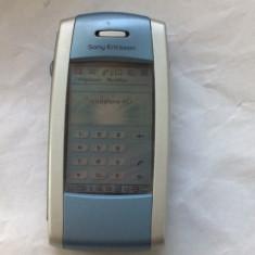 SONY ERICSSON P800 - Telefon mobil Sony Ericsson, Albastru, Nu se aplica, Neblocat, Fara procesor