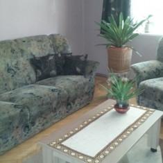 Canapea extensibila + 2 fotolii - Set mobila living