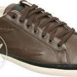 Adidasi barbati, Piele naturala - Lacoste originali tenisi brown marimea 43 (adidasi pantofi tenesi) Piele 100%