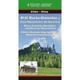 Dimap Harta Turistica Muntii Rarau-Giumalau si Zona Manastirilor din Bucovina