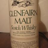 Whisky, glenfairn malt, 5yo, scotch whisky, cl 75 gr 40 anii 1960/70 - Palinca