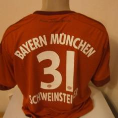 Tricou echipa fotbal, De club, Bayern Munchen, Maneca scurta - TRICOU SCHWEINSTEIGER BAYERN MUNCHEN SEZON 2015-2016 MARIME L