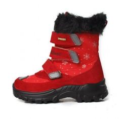Cizme copii, cizme pentru copii de iarna, impermeabile, talpa ortopedica, imblanite, cizme Grisport, oferim numai (GR9346SV94LG ), Marime: 33, Culoare: Rosu