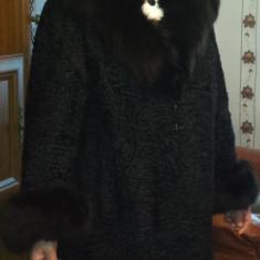Haina Blana Naturala - Palton dama