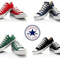 Tenisi Converse Chuck Taylor All Star adidasi tenesi bascheti toate marimile - Tenisi barbati, Marime: 36, 37, 38, 39, 40, 41, 42, 43, 44, Culoare: Alb, Textil