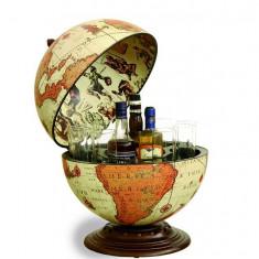Glob pamantesc de birou cu suport pentru bauturi - Safari 40 cm