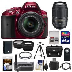 Nikon D5300 Digital SLR Camera KIT recent adus din SUA - DSLR Nikon, Kit (cu obiectiv), Peste 16 Mpx, Full HD