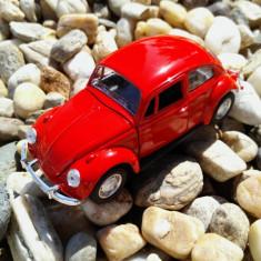 Macheta auto, 1:32 - Masina de Colectie / Macheta Volkswagen Beetle / Broscuta / Metalica Produs NOU