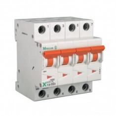 Siguranta automata modulara Moeller-Eaton PLSM-C2/4 curba C - 10 kA - Electromagneti