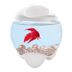 Acvariu - Bol Tetra Betta Bubble Alb 1 8 L