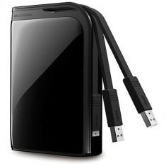 HDD extern - Hard disk extern Buffalo MiniStation Extreme, 2 TB, USB 3.0