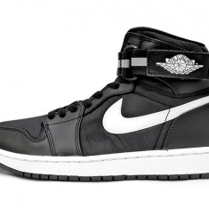 Adidasi barbati Nike, Piele naturala - Noi! Bascheti Nike JORDAN 1 HIGH STRAP RETRO, barbati marimea 45