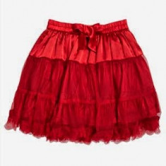 Fustita NEXT pentru fetite - OKAZIE, Culoare: Rosu