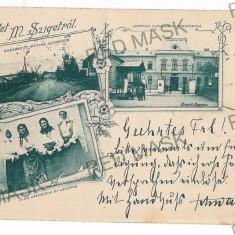 3084 - L i t h o, Maramures, SIGHET - old postcard - used - 1899 - Carte Postala Maramures pana la 1904, Circulata, Printata