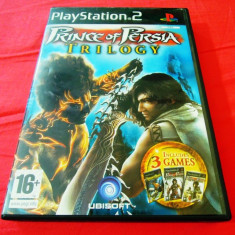 Prince of Persia Trilogy(Sands of Time+Warrior Within+Two Thrones) PS2, original - Jocuri PS2 Ubisoft, Actiune, 12+, Single player