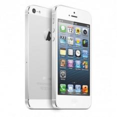 Telefon Apple iPhone 5 White, 16 GB, Wi-Fi, fara incarcator, fara cablu de date, pata display