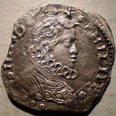 G.038 ITALIA SICILIA OCUPATIE SPANIOLA FILIP IV 4 TARI 1640 ARGINT 10, 4g - Moneda Medievala, Europa