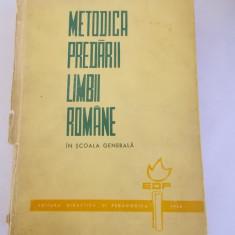 Culegere Romana - METODICA PREDARII LIMBII ROMANE IN SCOALA