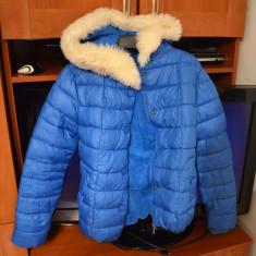 Geaca dama pentru iarna -geaca cu blanita pe interior- marimea M, Marime: M, Culoare: Alta