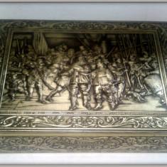 Cutie de tabla cu scena in relief Muller's Backen ein Vergnugen - Cutie Reclama