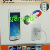 Suport auto - Suport de telefon, magnetic, cu fixare pe suprafete plate /09592