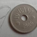 Monede Romania - 10 BANI 1906 J/9 FRUMOS