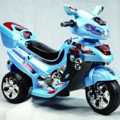 Masinuta electrica copii - Motoscuter cu acumulatori F928 Albastru Ramiz