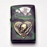 Bricheta tip - Zippo - militara - Casino - carti poker - craniu - Bricheta Zippo