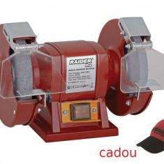 061103-Polizor de banc 200 mm - 370 W Raider PRO 3 ani garantie