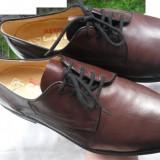 Pantofi barbati piele naturala GALLUS nr.42 originali NOI