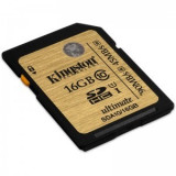 Card memorie Kingston, Micro SD, 16 GB - Kingston 16GB, Clasa 10, UHS-I, UFC, SDHC Secure Digital Card