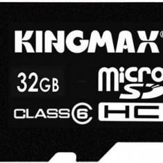 Kingmax, 32GB, KM32GMCSDHC6, Clasa 6, Micro Secure Digital Card cu adaptor SD - Card memorie Kingmax, Micro SD