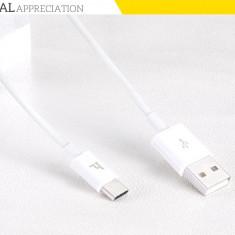 Cablu USB Type C, de calitate, rezistent marca Hoco, Macbook, Surface Pro 4, ALB - Cablu de date