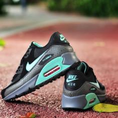 Adidasi Nike AIR MAX AIRMAX 90 Gri-Turcoaz - Adidasi barbati, Marime: 39, 40, 41, 42, 44, Culoare: Din imagine
