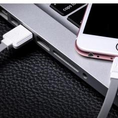 Cablu scurt 30cm Hoco original USB + LIGHTNING, Apple iPod, iPhone, iPad, GRI - Cablu de date