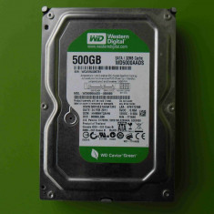 Hard Disk HDD 500GB Western Digital WD5000AADS 32MB SATA - DEFECT, 500-999 GB, Rotatii: 7200, SATA2
