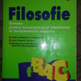 Manual scolar, Alte materii - Carte manual Filosofie Sinteze bacalaureat invatamant superior Anton I. Adamut