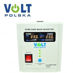 UPS 500VA 300W VOLT sinusPRO-500E pentru centrale termice
