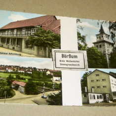 Carte postala tematica, Circulata, Fotografie - Tematica - pitoresc - case - biciclete - Germania 1988 - 2+1 gratis - RBK12012