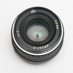 Arsat 50mm F2 -obiectiv foto Nikon - Obiectiv DSLR Nikon, Standard, Manual focus, Nikon FX/DX