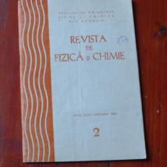 Revista de Fizica si Chimie - anul XXVII - nr 2 februarie 1990 / 96 pagini !!! - Revista scolara