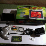 Televizor LCD, Sub 19 inchi, Intrare RF - MINI TV LCD 5 INCH NOSE LCDTV5 ALIMENTARE 12V