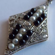 Pandant de aur 18k cu diamant - Pandantiv aur