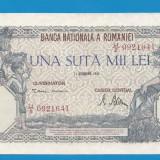 100000 lei 1946 21 octombrie aUNC
