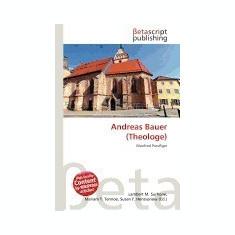 Andreas Bauer (Theologe) - Carte Literatura Engleza