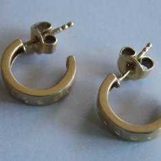 Cercei de aur -9k - Cercei aur, Galben