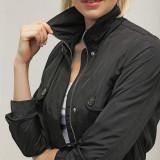 Jacheta parka cu gluga detasabila - Vero Moda - 10153204 negru - Geaca dama Vero Moda, Marime: S