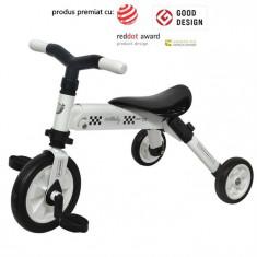 Tricicleta Dhs B-Trike Alb - Tricicleta copii
