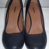 Pantofi dama eleganti din piele Graceland marimea 42 - Super Pret, Piele naturala