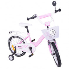 Bicicleta copii MyKids Toma Exclusive 1603 Pink